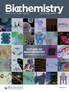 Biochemistry journal cover